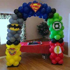 Cumple chris - Womens Batman - Ideas of Womens Batman - Cumple chris Fourth Birthday, 4th Birthday Parties, Birthday Party Decorations, Boy Birthday, Super Hero Birthday, Birthday Ideas, Spider Man Party, Avenger Party, Avengers Birthday