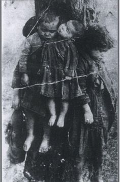 Polish children murdered by the Ukrainians with UPA