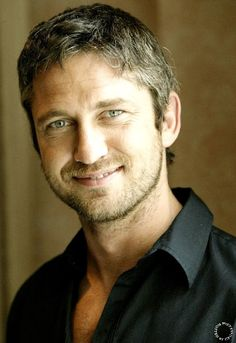 """Scotsman, Gerard Butler...another man with an accent...be still my heart! Love him in """"P.S. I Love You."""" :)"""
