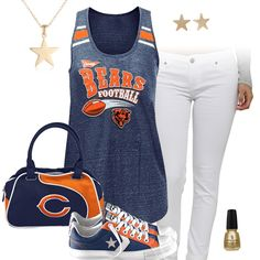 Chicago Bears All Star Outfit