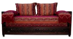 Moroccan Furniture Decor Red Sofa - All fresh, amazing and modern . Moroccan Decor Living Room, Moroccan Furniture, Sofa Furniture, Moroccan Bedroom, Moroccan Lounge, Morrocan Decor, Moroccan Interiors, Dream Furniture, Office Furniture