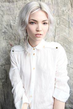 #white #hair #beauty