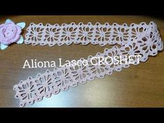 Crochet Flower Tutorial, Crochet Flowers, Projects To Try, Design, Crochet Stitches, Lace, Ideas, Weaving Kids, Crochet Dress Girl