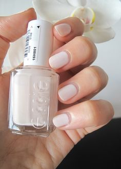 Essie - Fiji Perfect nail color for your wedding day or shower