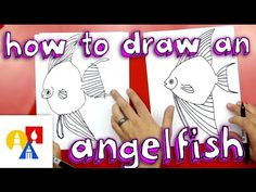 How To Draw An Angelfish - Art for Kids Hub