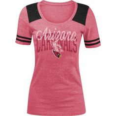 5th   Ocean Women s Arizona Cardinals Red Tri-Blend T-Shirt 7bd83c3cc5