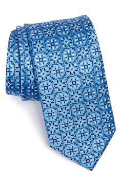 Eton Medallion Silk Tie available at #Nordstrom