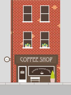 How to Create an Easy Coffee Shop Facade in Adobe Illustrator - Tuts+ Design & Illustration Tutorial
