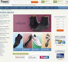 Best Online Stores for Wide Shoe Sizes - http://www.highfivesites.com/best-wide-shoe-sites/