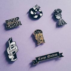 Repost @thevoidead  Pin collection is growing! All are available now in shop! www.VOIDEaD.com [Link in bio] . . . . . . #VOIDEaD #PinupGhoul #Beetlejuice #LydiaDeetz #CarpeNoctem #SeizeTheNight #DavidBowie #Bowie #Pinup #Mua #Makeup #Lipstick #Pinup #SeizeTheDay #Pin #Pins #PinCollector #PinCommunity #PinGame #PinGameStrong #Pinstagram #PinsOfInstagram #PinOfTheDay #Goth #Gothic #Horror #Halloween #GothMakeup    (Posted by https://bbllowwnn.com/) Tap the photo for purchase info.  Follow…