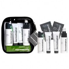 Dermalogica Skin Kit - Normal / Oily Skin by Dermalogica. $35.00. Skin Prep Scrub (.75 oz). Soothing Eye Make-Up Remover and Skin Refining Masque (samples). Special Cleansing Gel (1.7 oz). Active Moist (.75oz). Multi-Active Toner (1.7 oz). Dermalogica Normal/Oily Skin Kit is designed to allow you to cleanse, condition and hydrate skin on a daily basis using the most appropriate selection of Dermalogica products designed to control excess oil production in the T-zone wi...