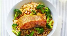 Salmon and Ginger Rice Bowlgoodhousemag