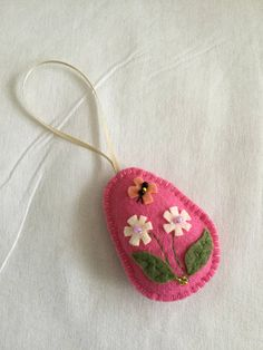 Easter egg decorations Looking for some Easter eggs for this Easter. These Easter eggs are perfect for your easter decorations or Easter egg hunts. These Easter eggs can be used year after year or give them as souvenirs. They are made with felt fabric and decorated with flowers and