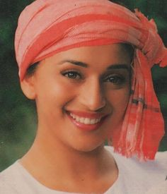 Image may contain: 1 person, hat and closeup Bollywood Celebrities, Bollywood Actress, Guess The Movie, Vintage Bollywood, Madhuri Dixit, Most Beautiful Indian Actress, Timeless Beauty, Beauty Queens, Vintage Beauty