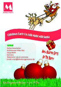 Christmas Party Invitations Templates