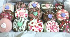Chocolate covered oreos for V-day!