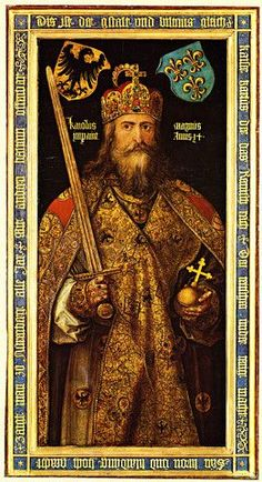 Charlemagne Emperor of the Holy Roman Empire discovered on Ancestry.com