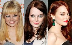 Blonde, brunette, or red-head... Emma Stone is gorgeous...