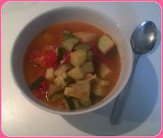 No gluten! Yes vegan!: Zuppa mediterranea