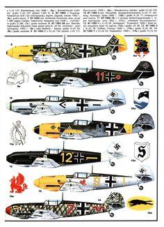 Bf-109 Chart
