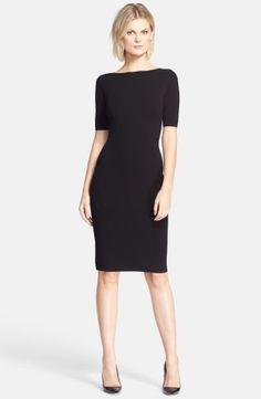 Theory 'Narlissa' Back Cutout Sheath Dress | No