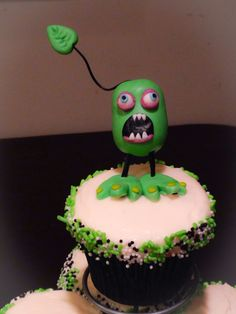 Furcorn singing monsters cupcakes