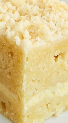 Lemon Cream Cheese Coffee Cake #CoffeeRecipes