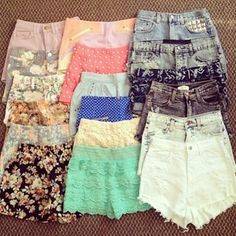 Shorts!! Love them