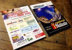 grafica e stampa volantini flyer A4, mostra mercato @commerciantiCornatedAdda