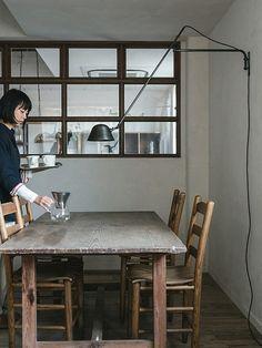 続々・首の長いライトたち | 建築家と建てる・鎌倉で建てる