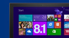 How to Download Windows 8.1 [At first, the large download 3.5 gigs didn't go well but after running Windows Update the download/install worked as expected]