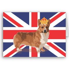 Awesome Corgi with Crown Intivations