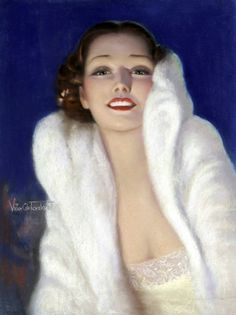 """Victor Tchetchet - American Weekly in September 1935 and titled """"Night Club Girl"""""""