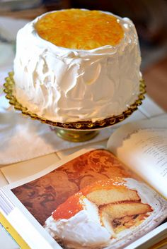 The Mitford Series - Esther's Orange Marmalade Layer Cake...Loved the books & can't wait to try this cake :)