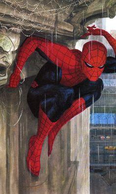 #Spiderman #Fan #Art. (Mythos Spider-Man - page 22 ) By: Paolo Rivera. (THE * 5 * STÅR * ÅWARD * OF * MAJOR ÅWESOMENESS!!!™)