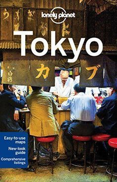 Lonely Planet Tokyo by travel guide.