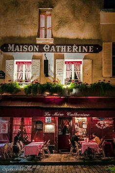 Restaurant La Mère Catherine, Place du Tertre, Montmartre, Paris