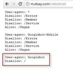 Mobile Robots.txt