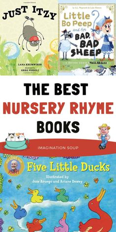 Best Nursery Rhymes, Classic Nursery Rhymes, Five Little, Little Duck, Best Children Books, Childrens Books, Writing Lesson Plans, Book Character Costumes, Rhymes For Kids