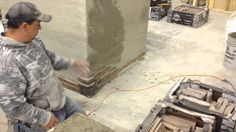 How to Install Stone Veneer - Kodiak Mountain Stone: Installation Video Application Settings, Manufactured Stone Veneer, Outdoor Kitchen Plans, Home Builders Association, Thin Brick, Modern Landscaping, Stone Tiles, Great Videos, High School Students