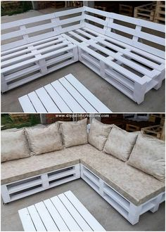 Use Pallet Wood Projects to Create Unique Home Decor Items – Hobby Is My Life Pallet Garden Furniture, Outside Furniture, Diy Furniture Couch, Diy Furniture Projects, Diy Pallet Projects, Pallet Ideas, Furniture Vintage, Cheap Furniture, Industrial Furniture