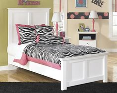 0-001570>Bostwick Shoals Twin Panel Footboard White