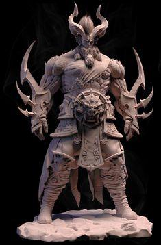 Yacha General, Sougato Majumder on ArtStation at https://www.artstation.com/artwork/KGnW4