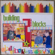Building Blocks - Scrapbook.com