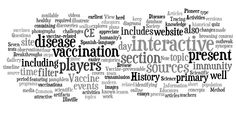 How has vaccination changed society? Learn about the history of disease ands prevention through interactive activities and games, articles, primary sources, & more w/the website The History of Vaccines. Click the word cloud to learn more!