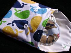 Custom Waterproof Bag for G Tube Pads and Trach Pads. $5.49, via Etsy.