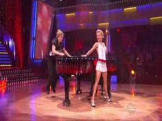 "Brother and sister  - Julianne and Derek Hough -  performs the jive on DWTS ::  ""Great balls of fire"""