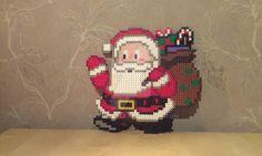 Santa Claus - Perler by RavenTezea.deviantart.com on @DeviantArt