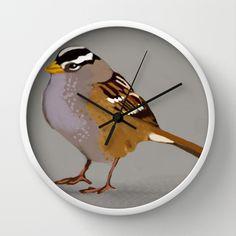 A group of sparrows wall clock wall clocks clocks and group sparrow wall clock thecheapjerseys Gallery