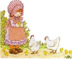 Sarah Kay - feeding the chicks